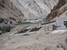 Village-scale solar electricity