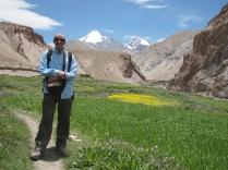 Kang Yatse Peak in the background