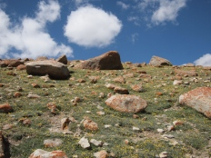 Boulders On The Ground And In the Sky