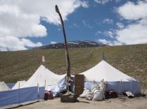 Tea Tent At 4,900 M
